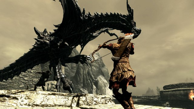 Many people think that Skyrim is not a role-playing game.