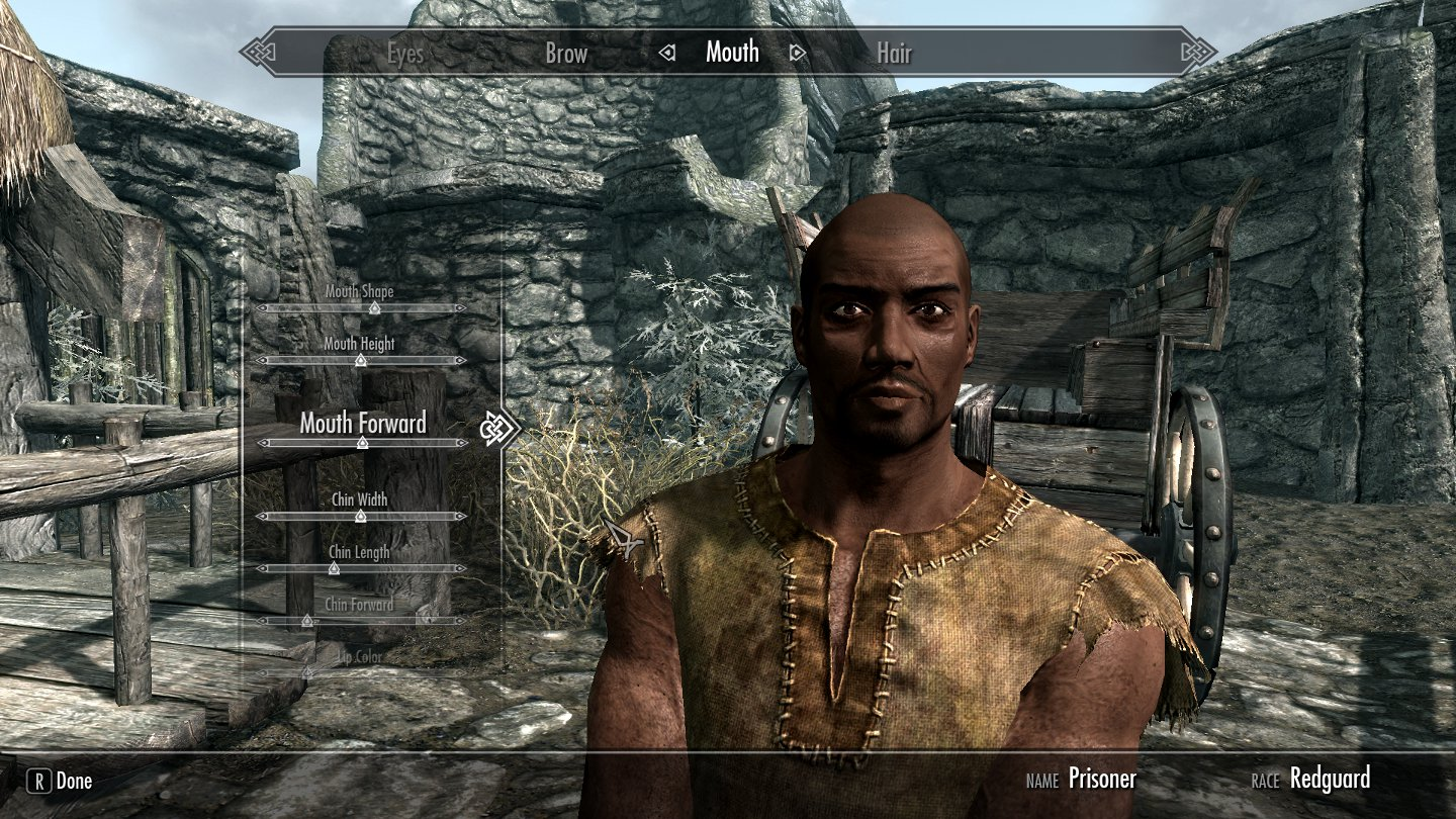 Skyrim female character mods nude movies