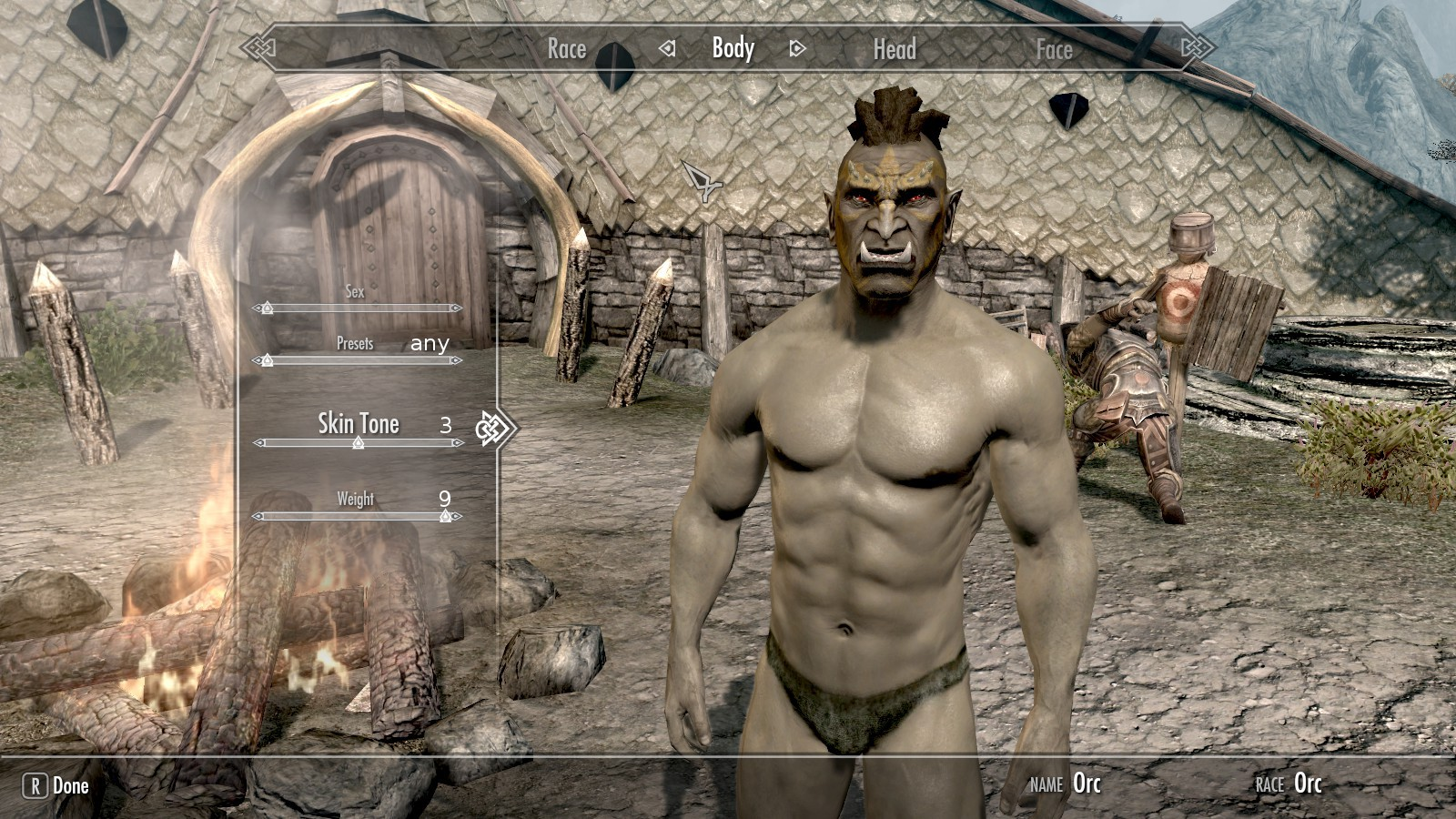 Any good Orc sliders out there? - The Elder Scrolls V