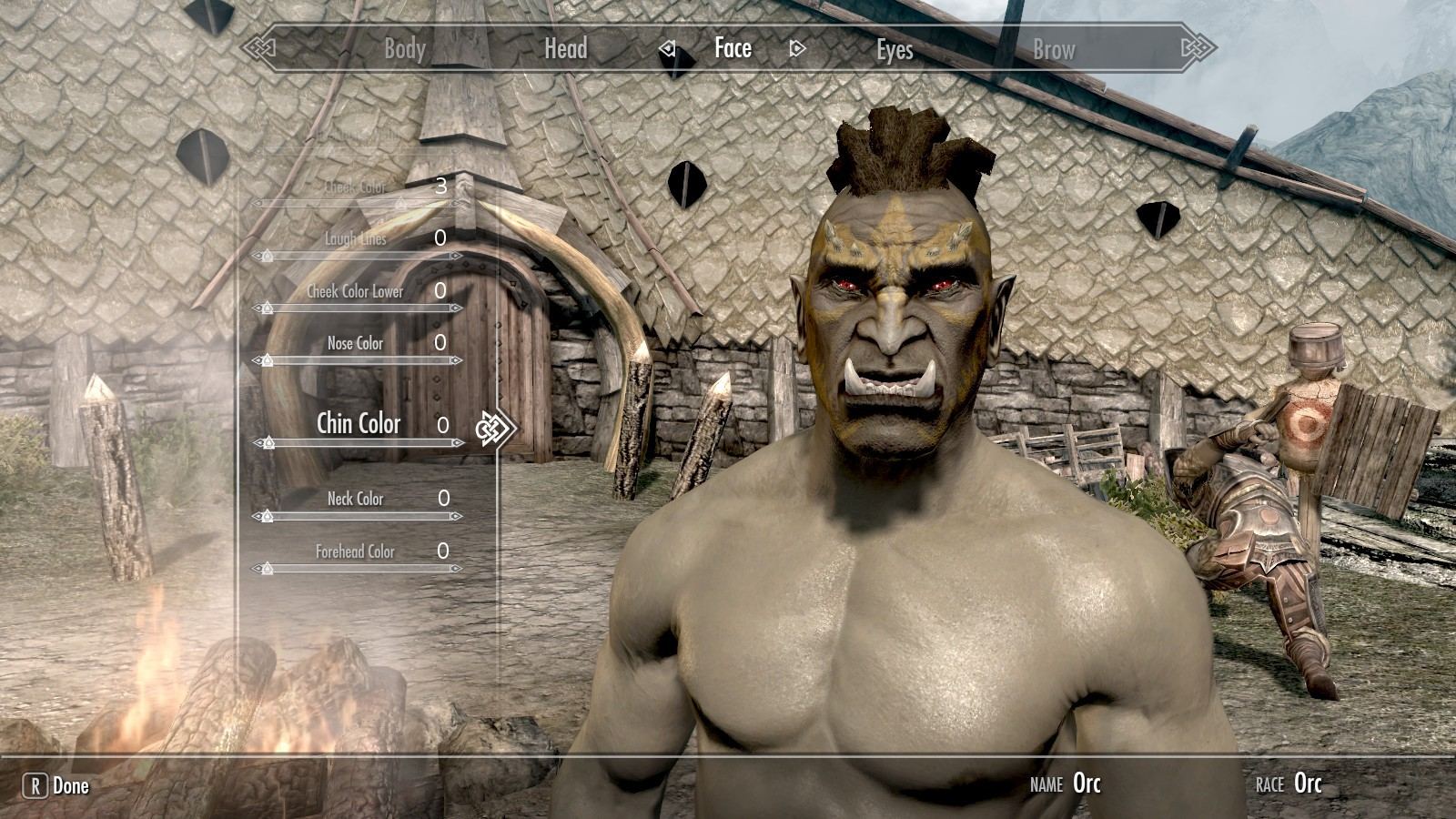 Oblivion character creation celebrity baby