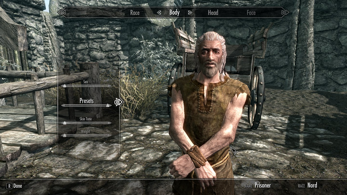 Skyrim celebrity faces mod