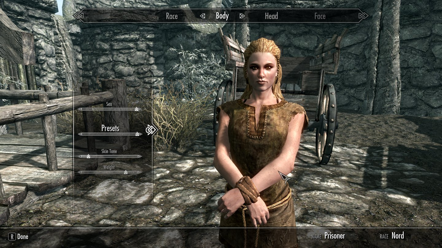 Skyrim celebrity faces female